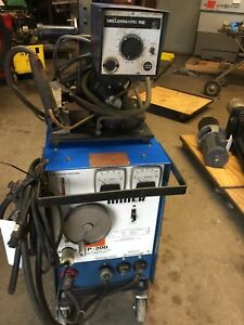 Miller Cp 200 Constant Potential Dc Arc Welding Power Source With Millermatic10e