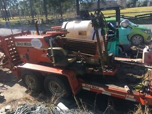 Ditch Witch Jt520 Horizontal Directional Drill 1160 Hours Excellent Condition