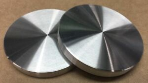 Aluminum Round Disc 4 Diameter Bar Circle Plate 2 Pcs 1 2 Flat Nice usa
