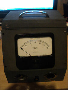 Vintage Simpson Direct Current Volts Meter 0 30 A c Input D c Output