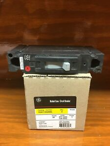 4 Ge Ted113020 20a 277vac 125vdc 1 pole Molded Case Circuit Breakers