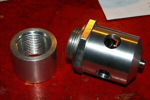 Shorrock C75 C142 Supercharger Relief Valve New With 3 4 Bsp Collar Mounting
