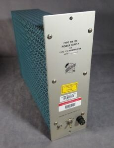 Tektronix Fm 125 Power Supply For Type 122 Preamplifier Vintage Vacuum Tube