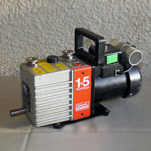 Edwards E2m 1 5 Two Stage Rotary Vane Vacuum Pump