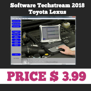Techstream 02 2018 Obd2 Toyota Lexus Tis Software V13 30 018 For Mini Vci