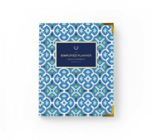 New In Box Emily Ley Simplified Planner 2019 Weekly Blue Tile