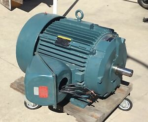Baldor 60hp 460v Three 3 Phase Electric Motor In Los Angeles 1780 Rpm Tefc 364ts
