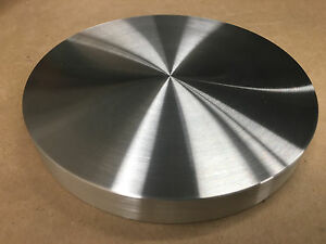 Aluminum Round Disc 7 1 2 Dia Bar Circle Plate 3 4 Thick Very Flat Nice Usa