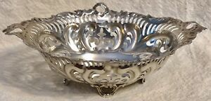 Antique19c Circa 1830 Birmingham Sterling Silver Bowl