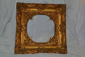 Antique Victorian Round Frame For Charger Or Plate 16 X 16