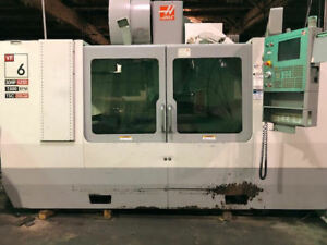 2006 Haas Vf6 With 4th Axis cnc Vertical Mill