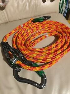 Arborist Lanyard Moveable Prusik Pulley Slack Tender 15 Ft