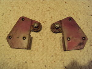 1949 1951 Willys Jeepster Rear Seat Hinges Pair