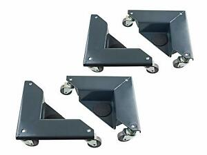 4 Set Furniture Mover Dolly Corner 1320lbs Load Moving Transport Heavy Items