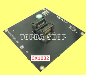 1pc Xeltek Cx1032 Test Adapter For Burning Recorder Conversion Seat xh