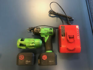 Snap On Ct4410 14 4v 3 8 Cordless Impact Wrench 2 Bat And Charger Works Great