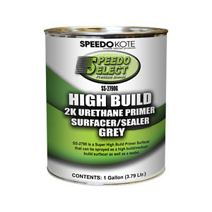Super Fill High Build Urethane Primer Gray Gallon Only No Activator Ss 2790g