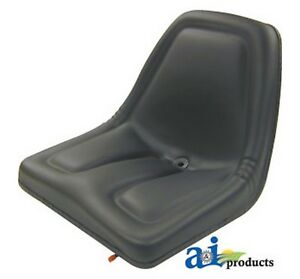 Ai Tms444bl Seat Michigan Style W Slide Track Blk For Allis chalmers