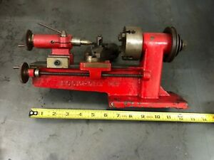 Watchmakers Lathe Nico Lockport Ny 4 Jaw Chuck Metal Mini Jewelers Watch Maker