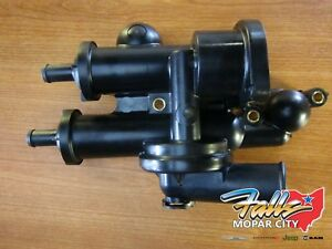 07 18 Chrysler Jeep Dodge Fiat Thermostat Housing And Adapter 2 0l 2 4l Mopar
