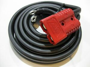 Warn 106077 26405 Winch Short Lead Wire 90 Cable 175 Amp Front Quick Connector