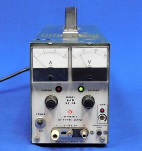 Kikusui Pad55 3l Regulated Dc Power Supply Untested Item As Is