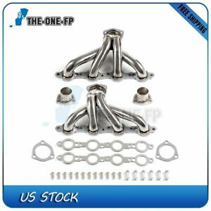 For Chevy Ls Ls3 Ls6 Ls7 Shorty Chevelle Camaro Stainless Steel Exhaust Headers