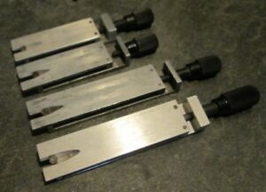 Kingsley Lot Of 4 Single Line 2 Piece Type Holders Hot Foil Stamping Machine