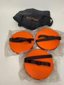 Tri ped Tripod Surveying Gps Stabilizing System Pack Of 3 Seco Leica Trimble
