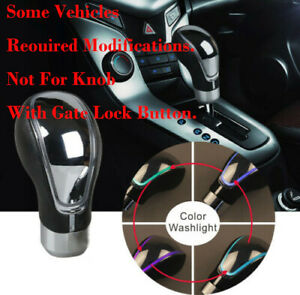 New Touch Sensitive Led Shifter Car Gear Shift Knob Rgb Multi color Usb Charch A