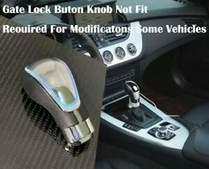 Touch Activated Sensor Led Gear Shift Knob White With Usb Charger A1