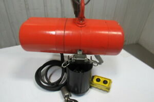 Cm Lodestar Model Aa 1 8 Ton Electric Chain Hoist 60fpm 10 230 460v 3ph
