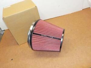 Spectre Hpr9892 Clamp on Cold Air Intake Air Filter 6 Flange X 7 Tall