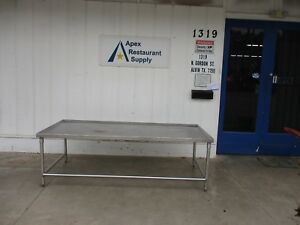Stainless Steel 88 X 40 Work Table equipment Stand 3678