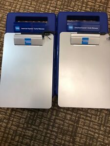 American Express Mobile Workstation Clipboard Lot Of 4