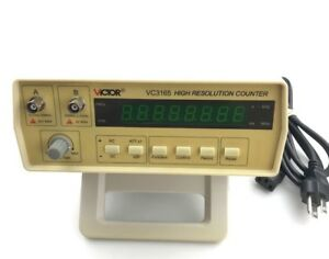 Vc3165 Professional Radio Frequency Counter Rf Meter 0 01 2 4ghz Victor Test