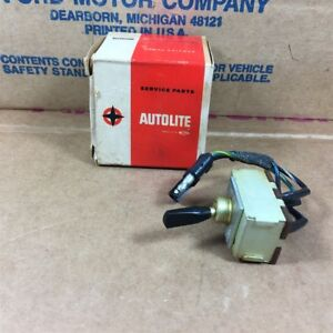 67 68 Cougar Nos Oem Ford C7wy 13713 a Courtesy Lamp Light Switch Assy