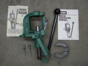 RCBS Rock Chucker II Reloading Press aluminum primer tray free shipping