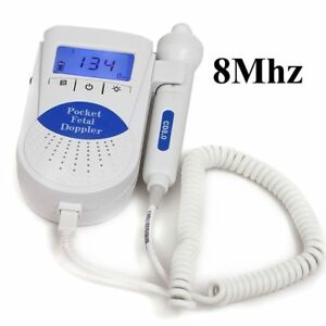 Handheld Vascular Fetal Doppler Monitor With 8mhz Vascular Probe