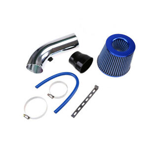 3 75mm Car Cold Air Intake Filter Alumimum Induction Kit Pipe Hose System Set
