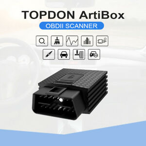 Topdon Artibox Bluetooth Obd2 Car Scan Diagnostic Code Reader For Iphone Android
