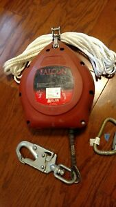Miller Falcon Mp30ss s 30ft Self retracting Lifeline Used