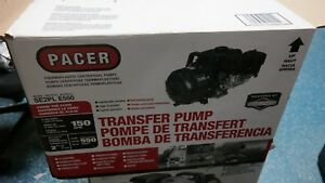 Pacer Water transfer Poly Pump Motor 2 Port Se2ple550 150 Gpm 4 Hp B s