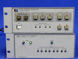 Agilent Hp 8750a Storage Normalizer 59313a Hpib Analog digi Convert Untested