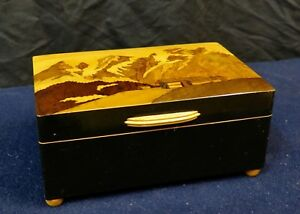 Vintage Early 20th Century Swiss Music Box