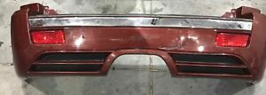 2007 Jeep Cherokee Srt8 Rear Bumper Assembly Red Good Condition