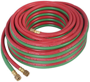 Welding Hose Torch Hose Oxygen Cutting 50ft 1 4 Twin New Free Shipping