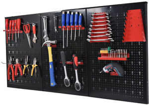 Tool Board Holder 24 X 48 Metal Pegboard Garage Shed Free Shipping