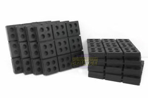 8 All Rubber Anti Vibration Pad Isolation Dampener Industrial Heavy Duty 6x6x3 4