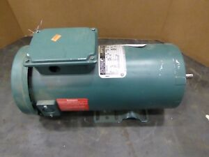Reliance Electric Motor T56s1013a Dc 1hp 1750rpm 180v Mf0056hc